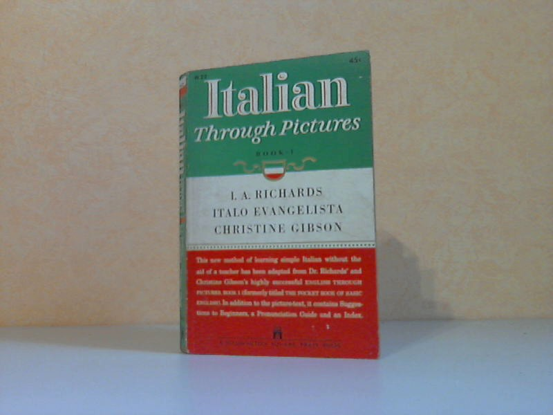 Italian - Through Pictures Book 1