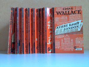 Der Rächer - Das Gasthaus an der Themse - Das Steckenpferd des alten Derrick - Bei den 3 Eichen - Die Millionengeschichte - Gangster in London - Die gebogene Kerze - Die Tür mit den sieben Schlössern - Kerry kauft London 9 spannende Kriminalromane von ...