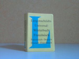 Langenscheidts Universal-Wörterbuch Französisch: französisch-deutsch, deutsch-französisch