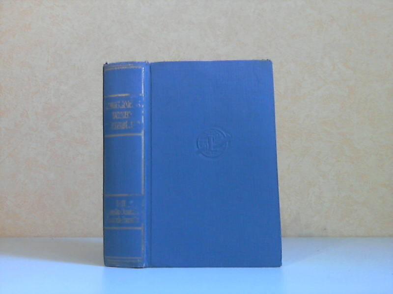 Langenscheidts Taschenwörterbuch der französischen und deutschen Sprache erster und zweiter Teil