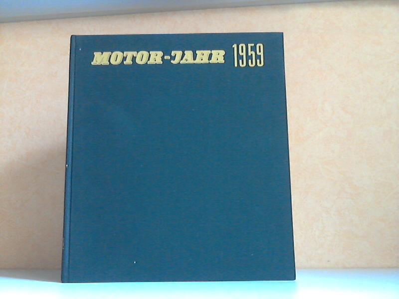 Motor-Jahr 1959 - Eine internationale Revue