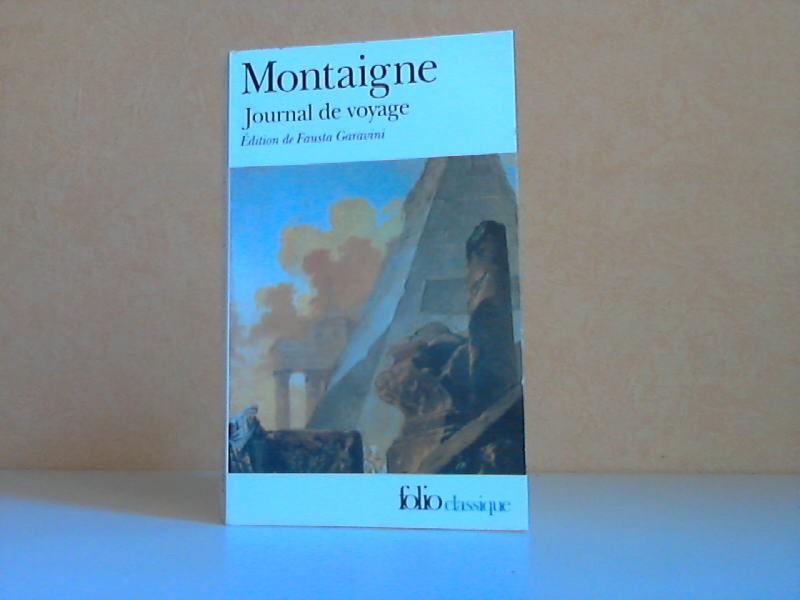 Journal de voyage Edition de Fausta Garavini