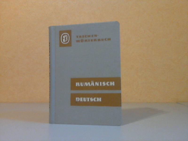 Rumänisch-Deutsches Wörterbuch