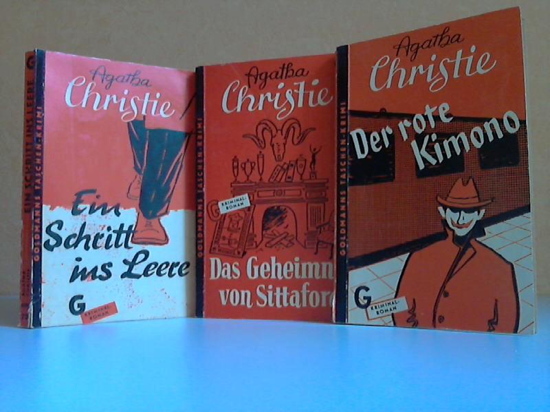 Ein Schritt ins Leere - Das Geheimnis von Sittaford - Der rote Kimono 3 Bücher