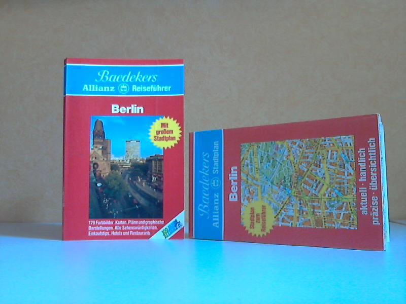 Berlin - Baedekers Reiseführer + Stadtplan zum Taschenbuch