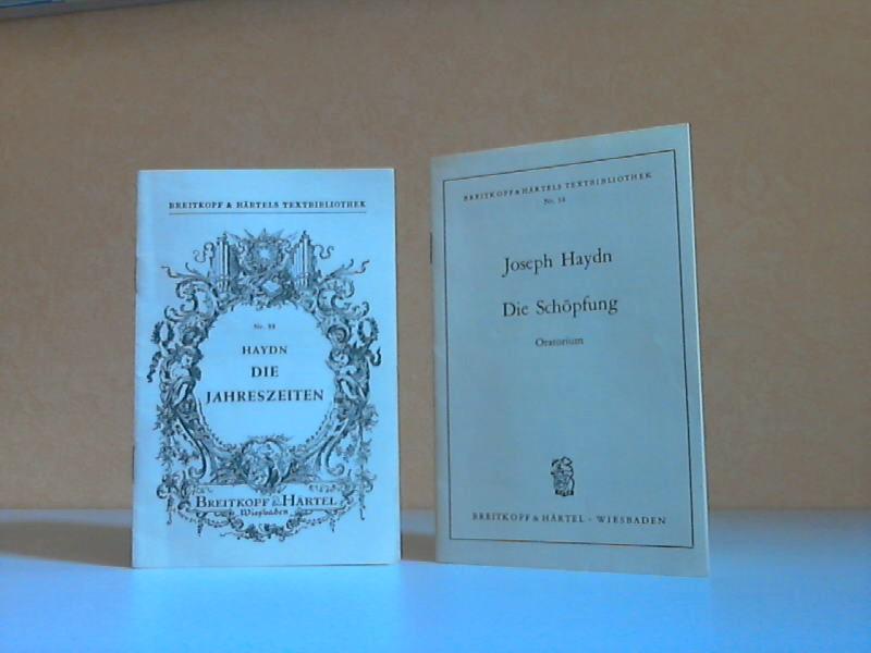 Die Jahreszeiten + Die Schöpfung - 2 Textbücher