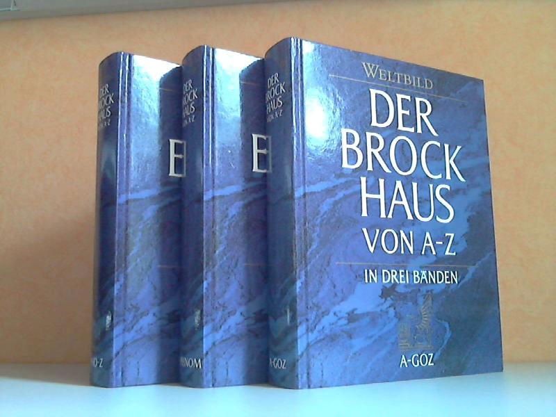 Der Brockhaus von A-Z in drei Bänden