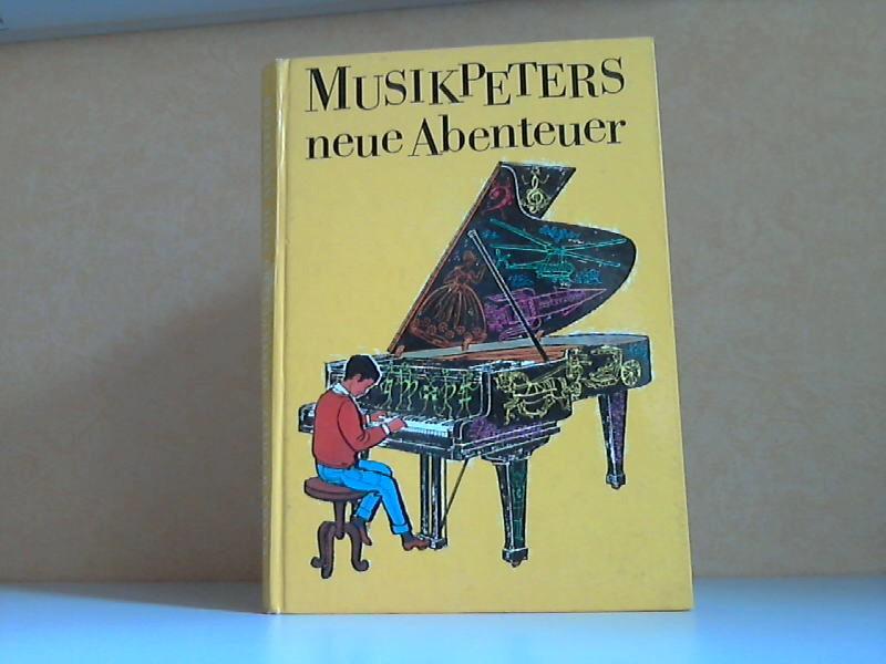 Musikpeters neue Abenteuer - Musiktheorie in Wort und Bild für Kinder und Erwachsene mit Illustrationen von Günter Blochberger