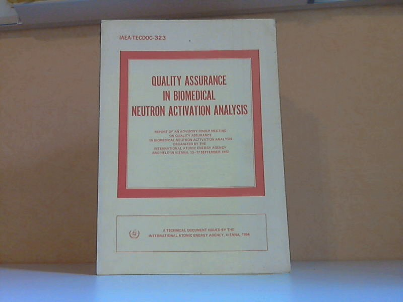 Quality assurance in biomedical neutron activation analysis