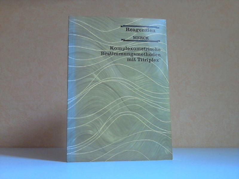 Komplexometrische Bestimmungsmethoden mit Titriplex