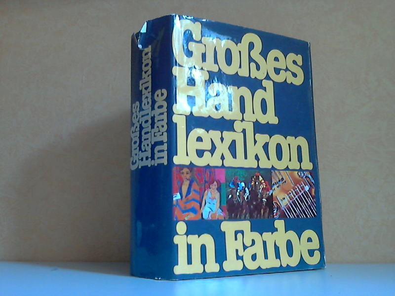Grosses Handlexikon in Farbe 60.000 Stichwörter und über 2.500 Abbildungen
