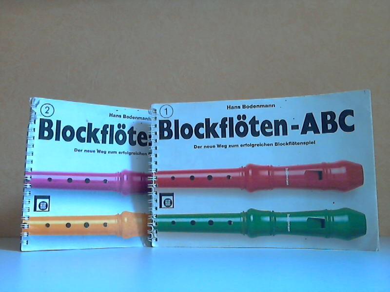 Blockflöten-ABC Band 1 und 2 - Der neue Weg zum erfolgreichen Blockflötenspiel 2 Bücher