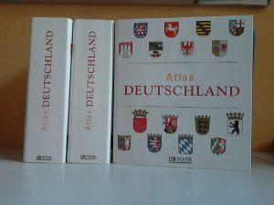 ATLAS DEUTSCHLAND - Sammelwerk, 3 Sammelordner mit 13 Bundesländern