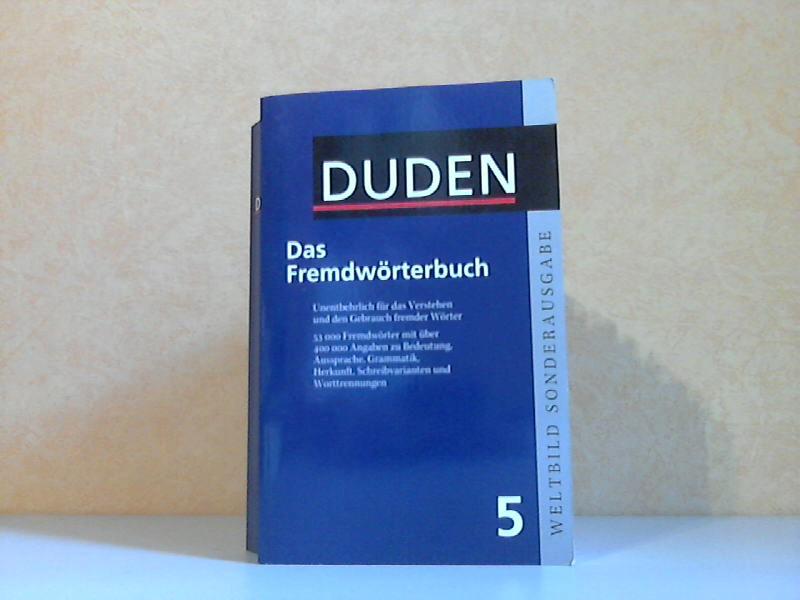 Duden Band 5: Fremdwörterbuch