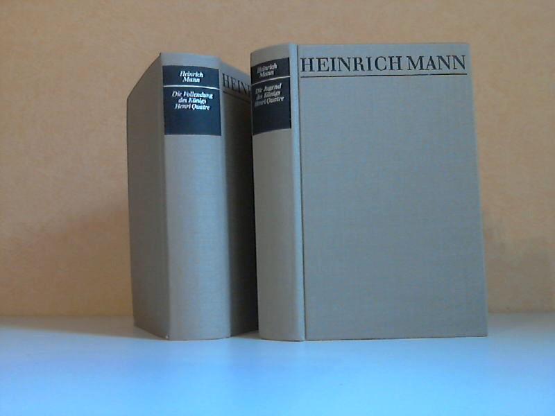 Gesammelte Werke Band 11: Die Jugend des Königs Henri Quatre + Band 12: Die Vollendung des Königs Henri Quatre 2 Bücher