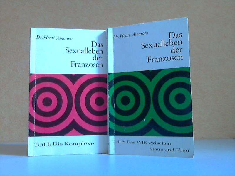 Das Sexualleben der Franzosen - Teil 1: Die Komplexe + Teil 2: Das WIE zwischen Mann und Frau 2 Bücher, PARISER TASCHENBUCH BAND 3 + BAND 4