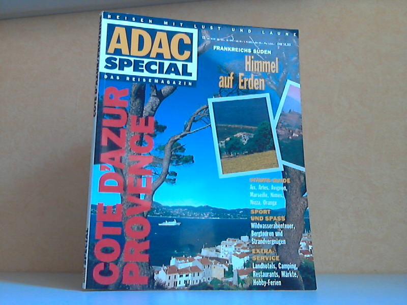 ADAC Special 3 /93: Cote D´Azur, Provence Reisen mit Lust und Laune