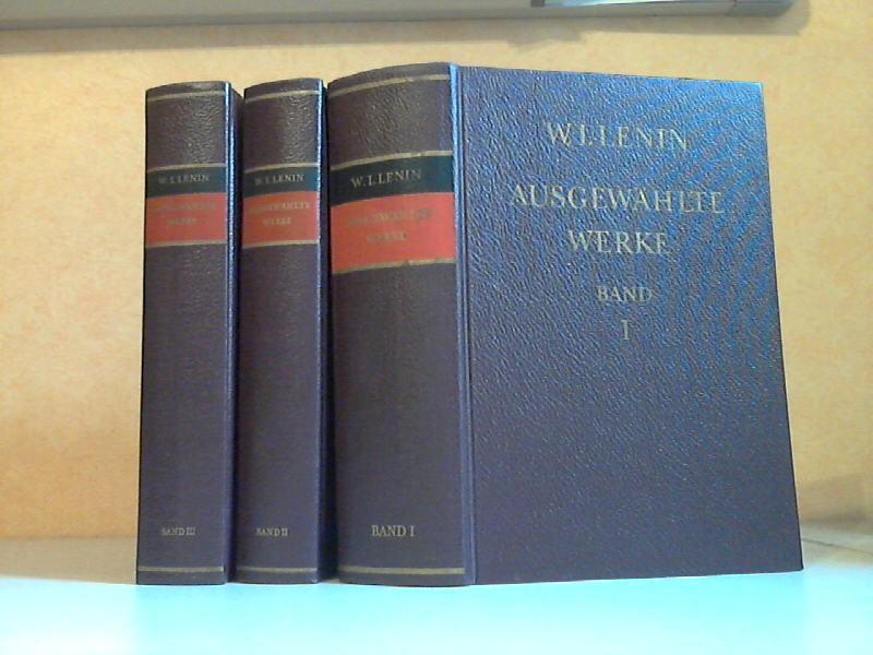 Ausgewählte Werke in drei Bänden