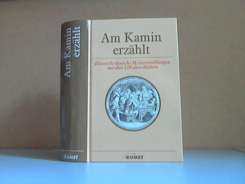 Am Kamin erzählt - Klassische deutsche Meistererzählungen mit über 120 alten Bildern
