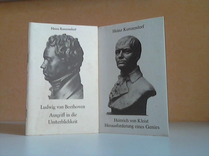 Heinrich von Kleist. Herausforderung eines Genies + Ludwig van Beethoven. Ausgriff in die Unsterblichkeit 2 Heftchen