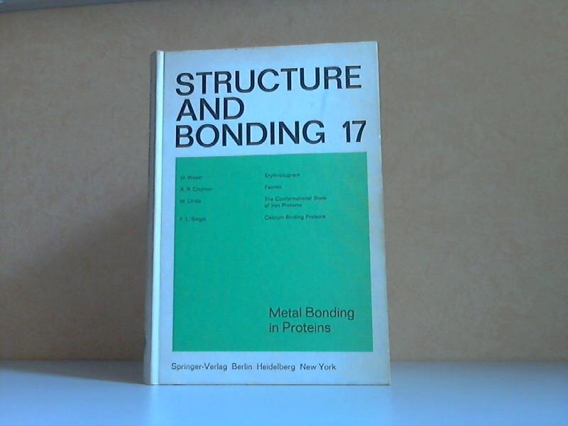 Structure and Bonding Volume 17