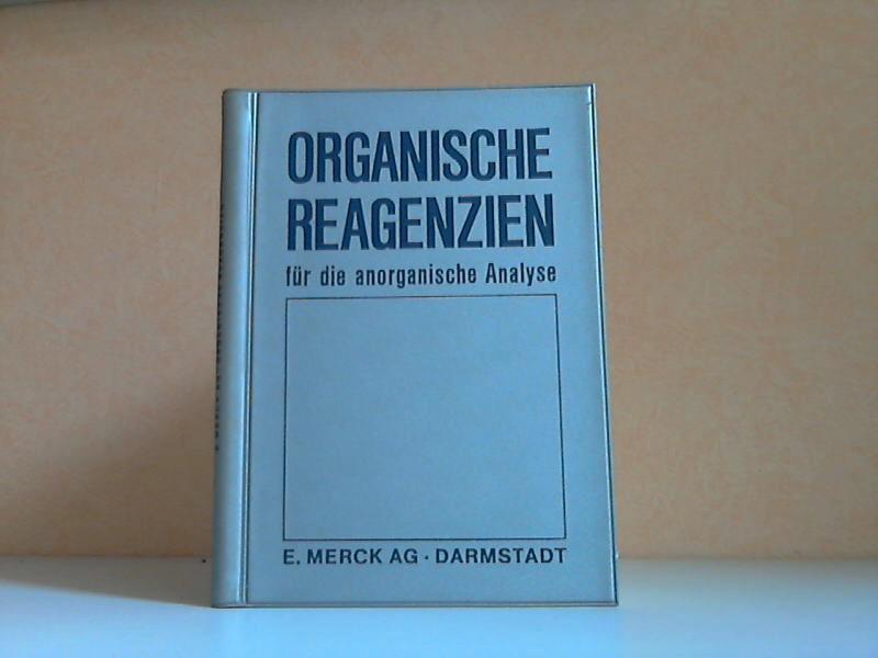 Organische Reagenzien für die anorganische Analyse