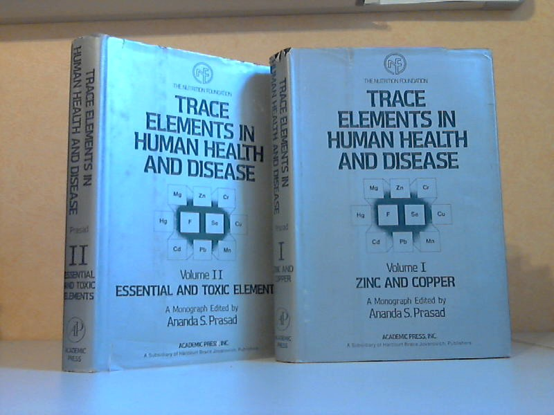 Trace Elements in Human Health and Disease Volume 1 + 2 2 Bücher