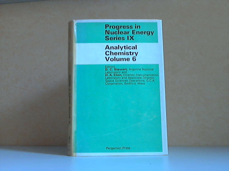 Analytical Chemistry Volume 6