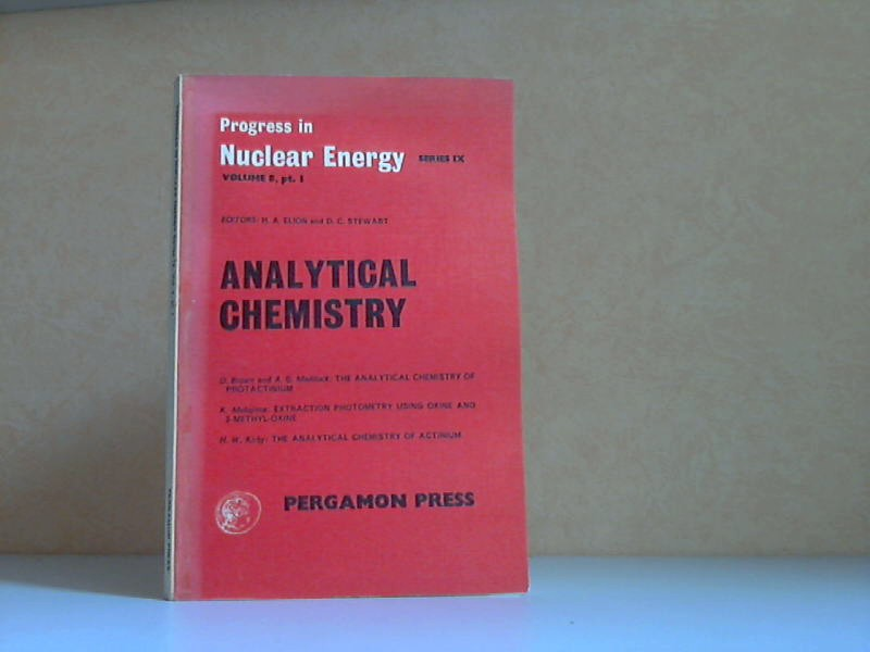 Analytical Chemistry Volume 8, Part 1