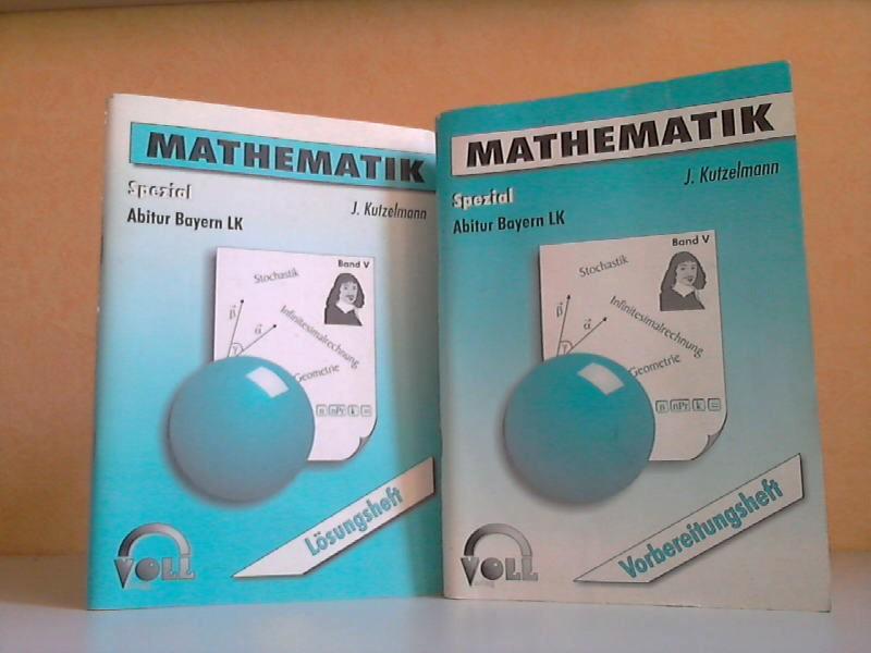 Mathematik LK Spezial - Abitur Bayern Vorbereitungsheft und Lösungsheft (2 Hefte)