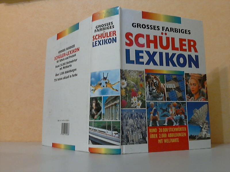 Grosses farbiges Schüler Lexikon
