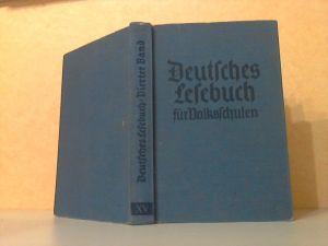 Deutsches Lesebuch vierter Band