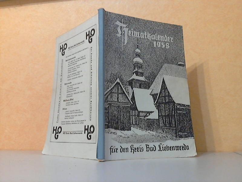 Heimatkalender 1958 für den Kreis Bad Liebenwerda