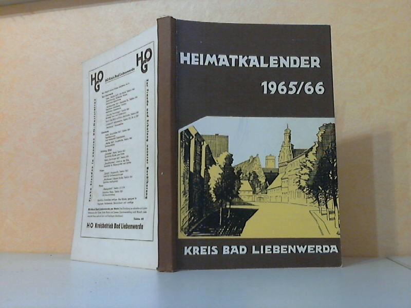 Heimatkalender 1965-1966 für den Kreis Bad Liebenwerda