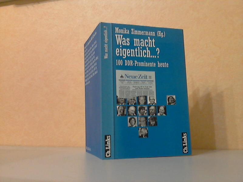 Was macht eigentlich...? - 100 DDR-Prominente heute