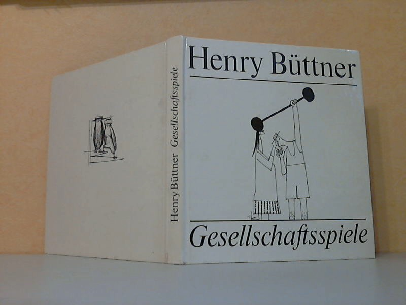 Henry Büttner, Gesellschaftsspiele