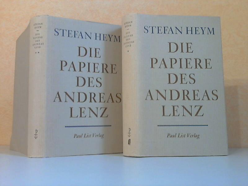 Die Papiere des Andreas Lenz erster und zweiter Band
