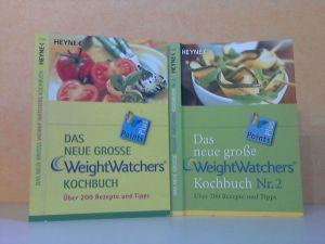 Das neue grosse Weight Watchers Kochbuch + Das neue grosse Weight Watchers Kochbuch Nr. 2 - 2 mal über 200 Rezepte und Tipps 2 Bücher