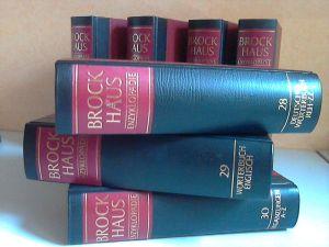 Brockhaus Enzyklopädie in vierundzwanzig Bänden + Bände 25 bis 30 (Ergänzungsbände) 30 Bücher