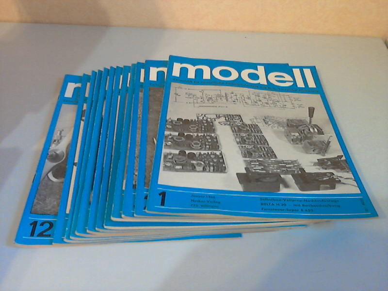 Modell Zeitschrift für neuzeitliche Selbstbautechnik mit R/C- und Transistor-Elektronik - 9. Jg. Hefte 1 bis 12/1966 12 Hefte