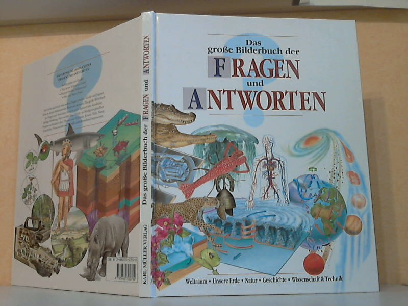 Das große Bilderbuch der Fragen und Antworten