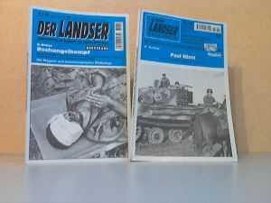 Der Landser. Grossband. Erlebnisberichte zur Geschichte des Zweiten Weltkrieges - Bände Nr. 951, 1184, 2 Zeitschriften