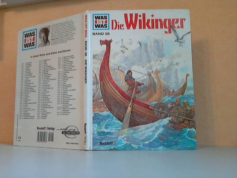 Was ist Was - Band 58: Die Wikinger Illustriert von Nikolai Smirnov