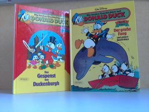Die besten Geschichten mit Donald Duck. Album 1: Der große Fang + Album 2: Das Gespenst von Duckenburgh 2 Bücher