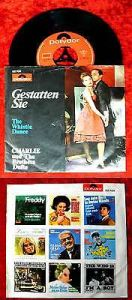Single Charlie & The Brothers Dufte: Gestatten Sie (Polydor 52 709) D 1966