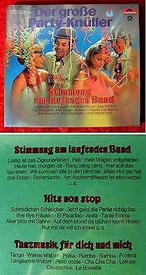 3LP Box Der große Party Knüller (Polydor 27 057-9) Club Edition Sonocord
