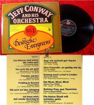 LP Jeff Conway: Deutsche Evergreens No. 1