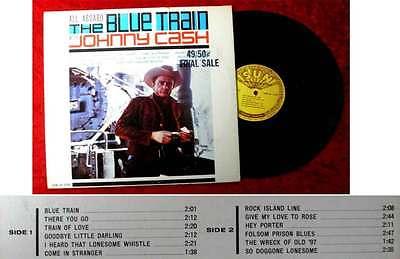 LP Johnny Cash: All Aboard The Blue Train (Sun LP 1270) US