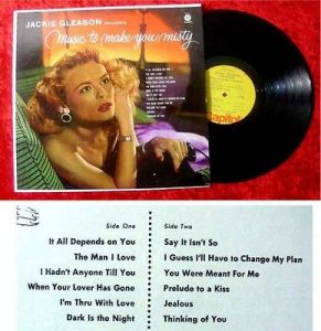 LP Jackie Gleason Music to make you misty