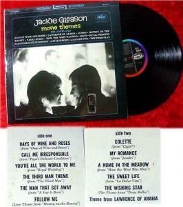 LP Jackie Gleason: Movie Themes